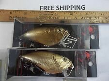 LOT OF 2 SOUL5 EVOLVE CrankBAIT FISHING Lures NEW 2016 LURE NEW IN PACKS NICE