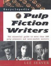 Encyclopedia of Pulp Fiction Writers (Facts on File Library of America-ExLibrary
