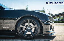 20x10 20x11 +28 Rohana RC22 5x120 Black Rims FIt chevrolet camaro ss 2010 5x4.75