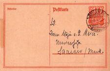 GERMANIA - DEUTSCHES REICH - INTERESSANTE CARTOLINA POSTALE DA GRÜNBERG - 1921