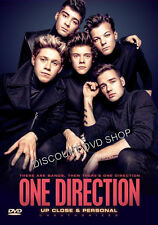 One Direction - Up Close And Personal (DVD, 2014) Prompt Delivery From UK