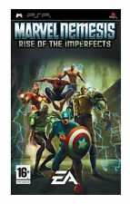 Marvel Nemesis: Rise Of The Imperfects (PSP) - Game Boxed. Book