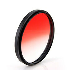 52mm graduated RED lens filter gradual for Canon Rebel T4i T3i T3 T2i T1i XTi XS