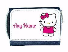 Personalizzato Ragazze Borsa in denim con design in stile Hello Kitty