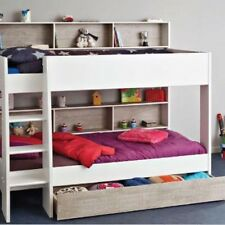 Single Bunk 2 X Beds With Under Drawer NEW Design Made In France !! Euro Design