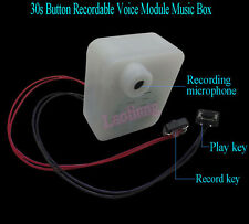 30s Button Recordable Voice Module Music Box Sound Record Fr Plush Doll Toy Gift