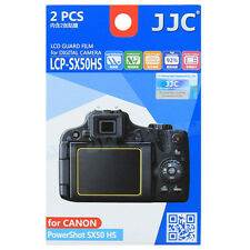JJC LCP-SX50HS LCD Guard Film Camera Screen Display Protector for Canon SX50 2p