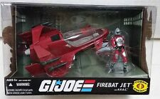 2008 GI Joe Cobra Firebat Jet w/ AVAC Figure & Vehicle Set MIB Hasbro