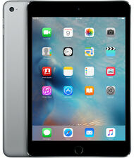 Apple iPad Mini 4 64GB, Wi-Fi + Cellular 4G, 7.9in - Space Gray with AppleCare+
