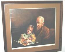 JOSEPH DAWLEY GRANDPA WITH GRANDAUGHTER WITH DOLL GREAT GIFT TO SOMEONE C INSIDE