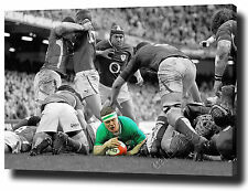 "BRIAN O'DRISCOLL CANVAS PRINT POSTER PHOTO WALL ART 30""x20"" 2015IRELAND RUGBY"