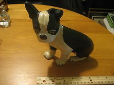 Vintage Cast Iron Doorstop Door Stop Boston Terrier