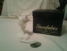 "DEPT 56 SNOWBABIES STARLIGHT GAMES "" HOLD THAT POSE "" MIB"