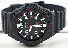 Casio MRW-S300H-8BV Mens Tough Solar Divers Watch 100M WR Analog New