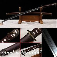 Hand Forge Japanese 98 Type Military Samurai Sword Patter Steel Sharp Katana
