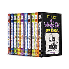 Diary of a Wimpy Kid Complete Series Hardcover Books 1-10 Collection Set NEW!