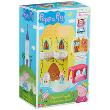 Peppa Pig Princess Peppa's Enchanting Tower Playset With Accessories 3+