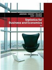 Statistics for Business and Economics by James J. Cochran, David R. Anderson,...