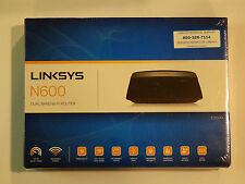 New! Linksys E2500 (N600) Advanced Simultaneous Dual-Band Wireless-N Router