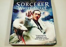 The Sorcerer and the White Snake Blu-ray & DVD, NO DIGITAL HD ULTRAVIOLET COPY