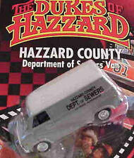 Dukes of Hazzard Sewer Van 1:64 Racing Champions 78104