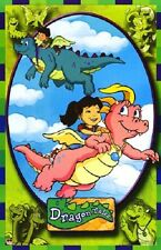 2003 SESAME WORKSHOP DRAGON TALES GROUP FLYING GREEN POSTER 22x34 FREE SHIP