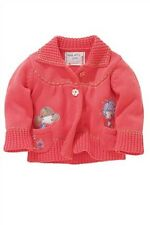 BNWT NEXT GIRLS  BIG SMILES THICK Autumn Winter CARDIGAN  18-24m. LAST ONE!!!