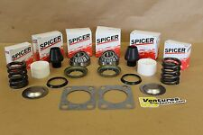 KING PIN BEARING SEAL REBUILD KIT BUSHING SPRING AND UPPER KINGPIN DODGE DANA 60