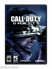 Call of Duty Ghosts PC Brand New Sealed COD PC game