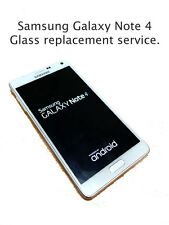 SamSung GALAXY NOTE 4 broken GLASS / Screen Repair Service FAST Turnaround