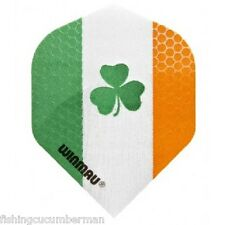 WINMAU IRELAND FLAG WITH CLOVER DART FLIGHTS