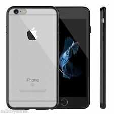 JETech® iPhone 6s/6 Case Shock-Absor Clear Black Bumper Shell Cover Skin Speck