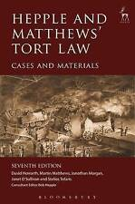 Hepple and Matthews' Tort Law: Cases and Materials by David Howarth, Martin...