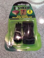 EasyKlip Hot Tub Cover Strap Repair Spa Storm Straps Replacement Clip Tie Down