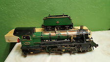 Live Steam O scale toy train engine & tender steam engine O gauge neat look!!