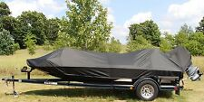 Carver Sun-DURA Boat Cover 17'6 Jon Style Bass Boat O/B MADE IN USA 7YR WNTY