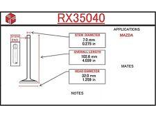 Mazda 323 Mercury Tracer Engine Exhaust Valve ITM RX35040