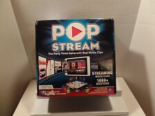 NEW Spin Master Pop Stream Trvia Movie Clip Board Game Party Family Night