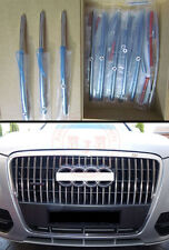 For Audi Q5 New Stainless steel Front Grille Trim 2009 2010 2011 2012 AU