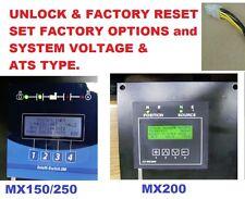 Configurator Key 50W-1211 plug GE Zenith transfer switch ATS - MX200 MX150 MX250