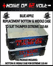 Thumper GENUINE REPLACEMENT bottom & middle case EXTREME 110AH Battery Pack 12V