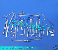 Ear Set of 41 Instruments Surgical ENT Medical Surgery Instrument