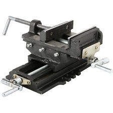 "Heavy Duty 5"" Cross Drill Press Vise Slide Metal Milling 2 Way X-Y Clamp Machine"