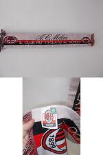 sciarpa scarf calcio schal bufanda echarpe MILAN UFFICIALE