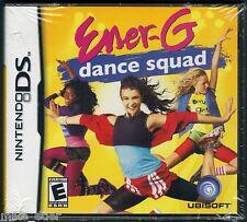 Ener-G Dance Squad  (Nintendo DS, 2008) Factory Sealed