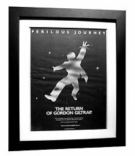 GORDON GILTRAP+Perilous Journey+POSTER+AD+ORIGINAL 1977+FRAMED+FAST GLOBAL SHIP