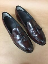 Hanover 2505 Genuine Shell Cordovan Tassel Loafer Shoes moccasin Mens Sz 11-1/2