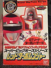 Bioman Turbo Ranger Dx Bandai Japan 1989 Vintage Super Sentai Red