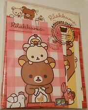 Rare San-x Rilakkuma Breakfast Eggs Jumbo Kawaii Letter Set stationery