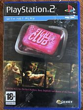 Sony PlayStation 2 - FIGHT CLUB ~ Beat 'Em Up ~ PS2 Game Based on Film